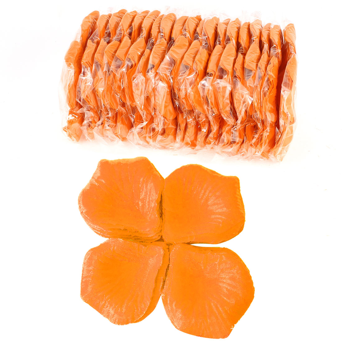 2000 Pcs Orange Artificial Silk Flower Rose Petals Wedding Bridal Party Decorations