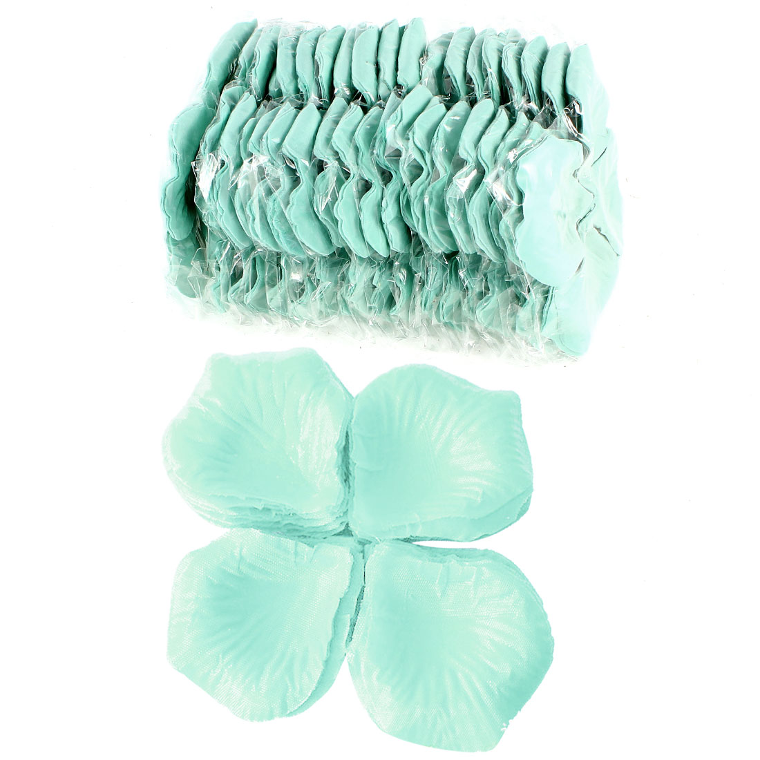 2000 Pcs Aqua Artificial Silk Flower Rose Petals Wedding Bridal Party Decorations