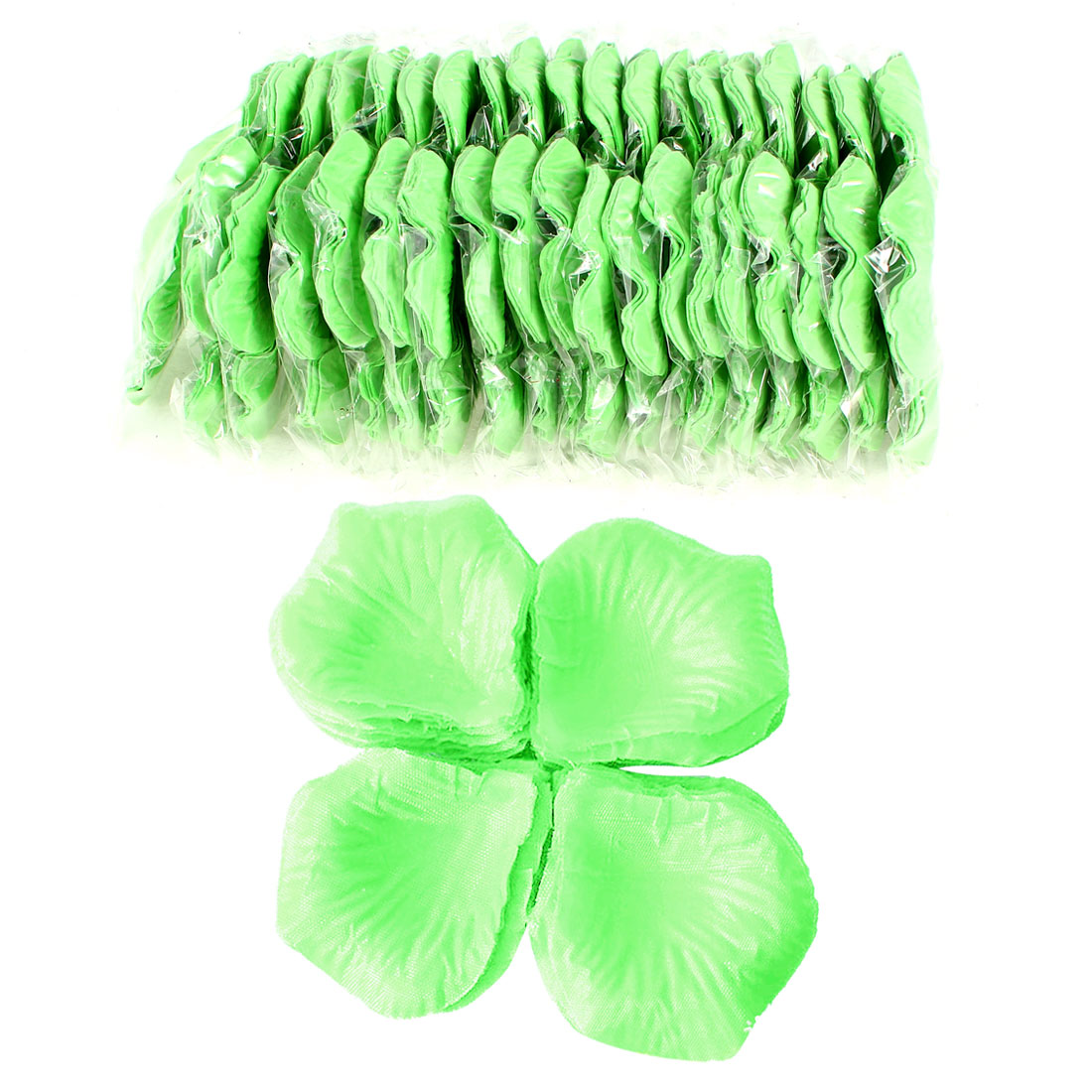 2000 Pcs Green Artificial Silk Flower Rose Petals Wedding Bridal Party Decorations