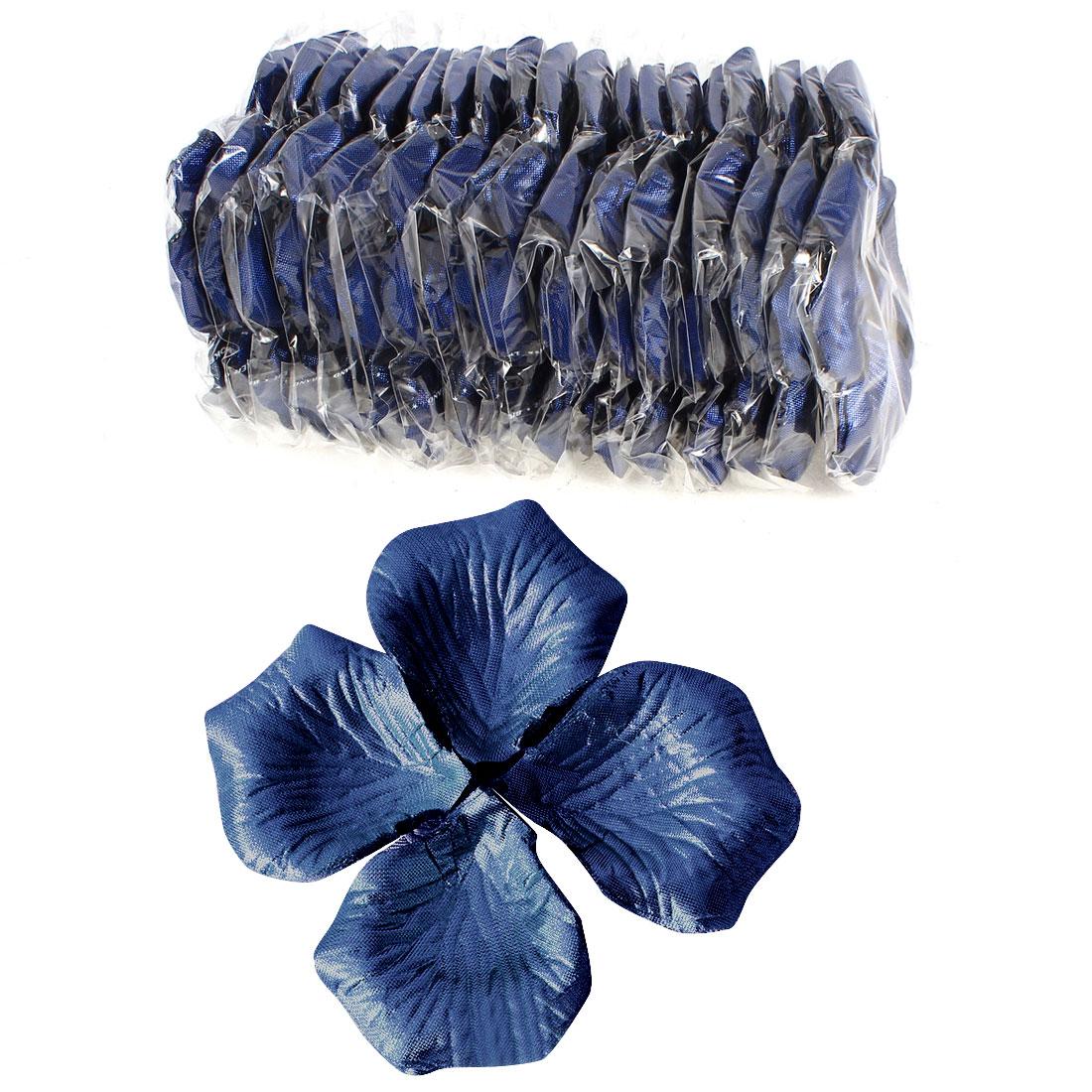 1000 Pcs Royal Blue Artificial Silk Flower Rose Petals Wedding Bridal Party Decorations
