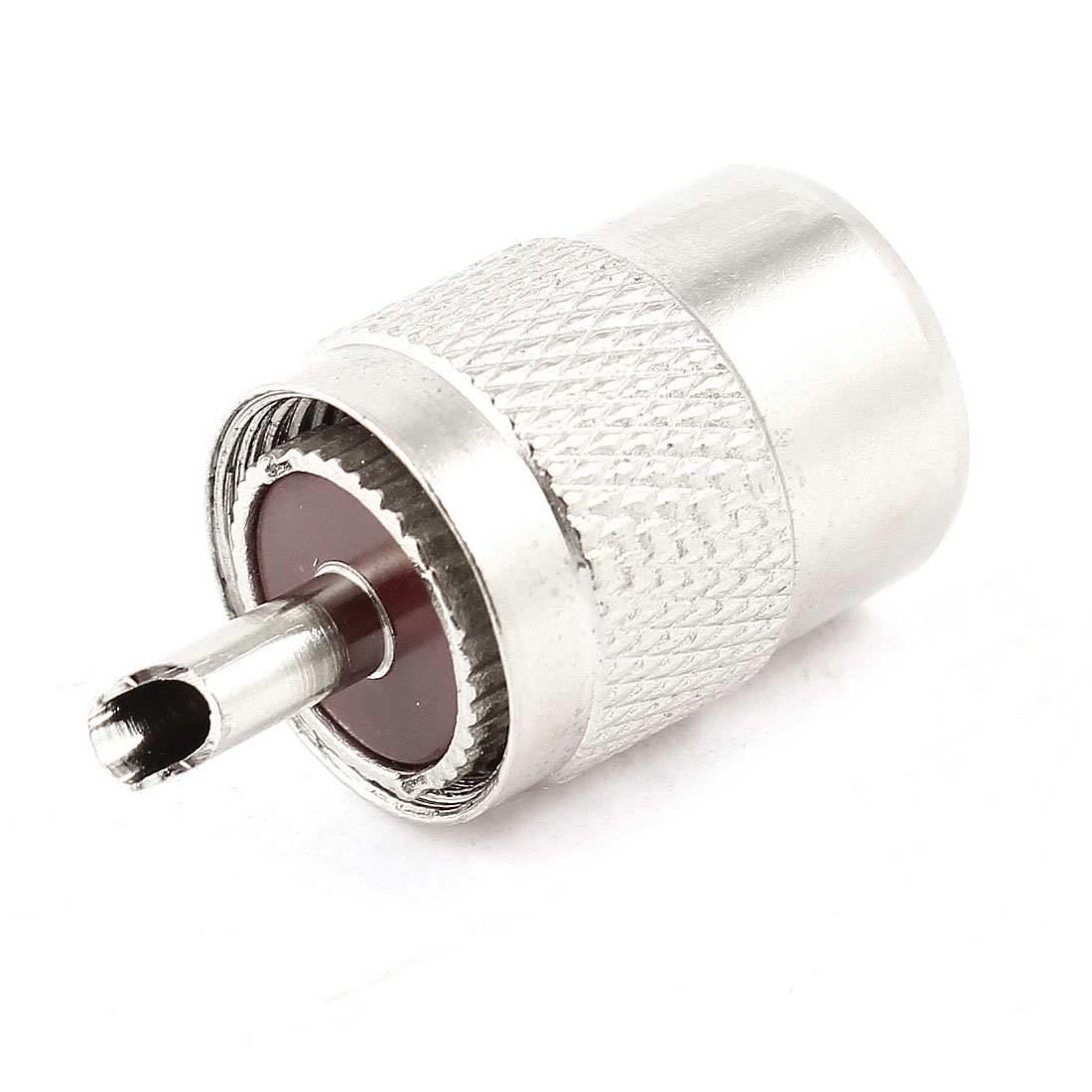 Nickel Plated PL259 Male Solder Type UHF Radio Connector