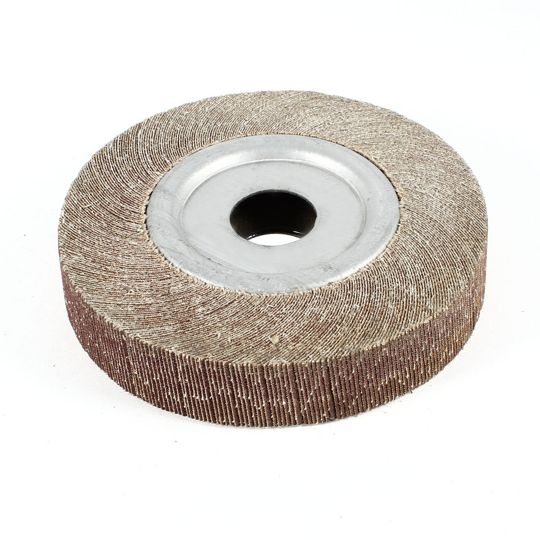 125mm x 25mm x 24mm Double Sides Abrasive Flap Sanding Disc Polish Wheel