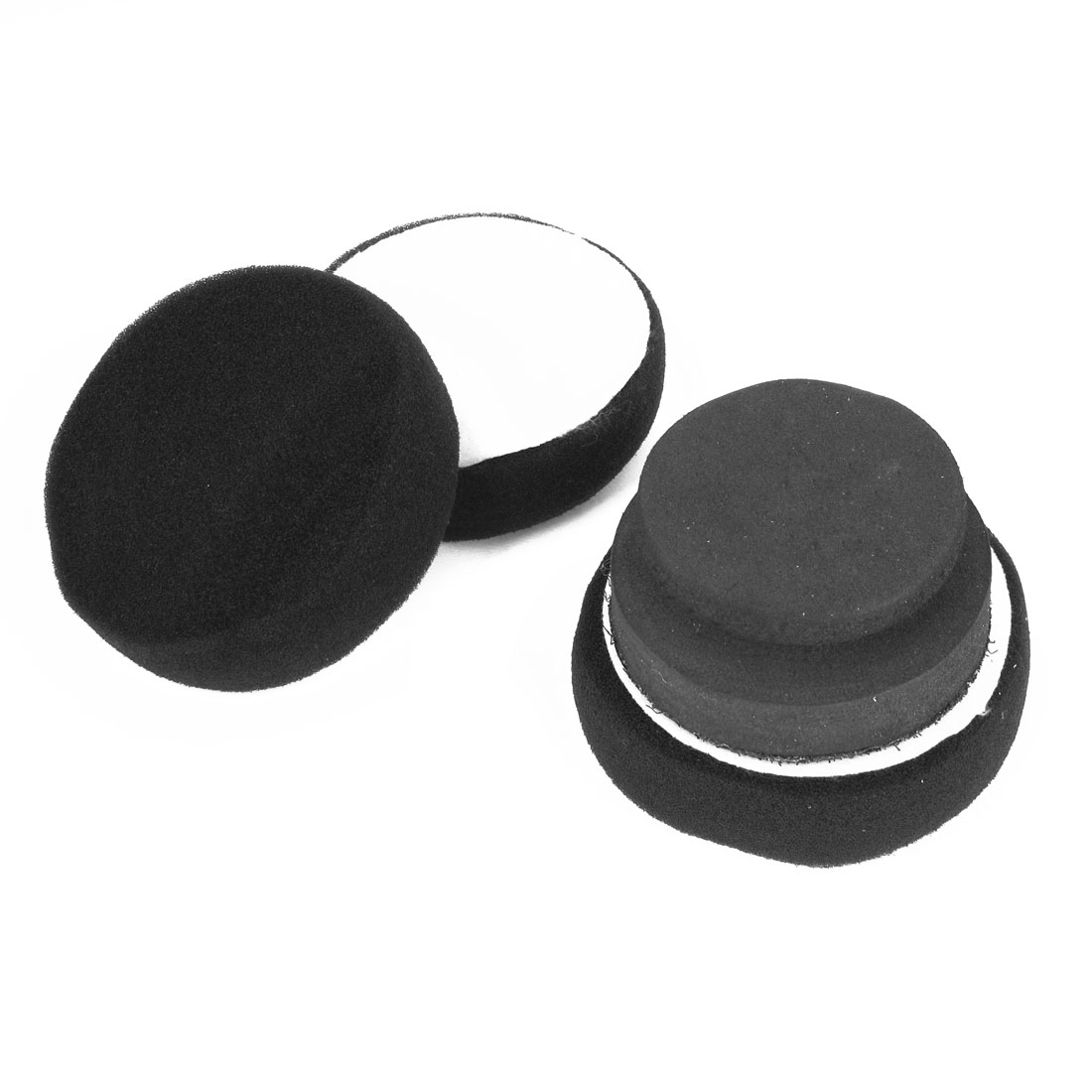 3 in 1 Black Washing Polishing Waxing Wheel Sponge Pads Tool for Car Auto