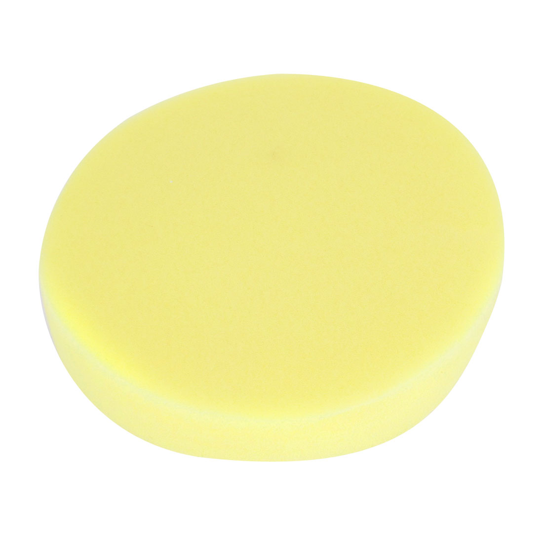 "6"" Dia Yellow Round Wash Cleaning Polishing Sponge Pad for Auto Car"