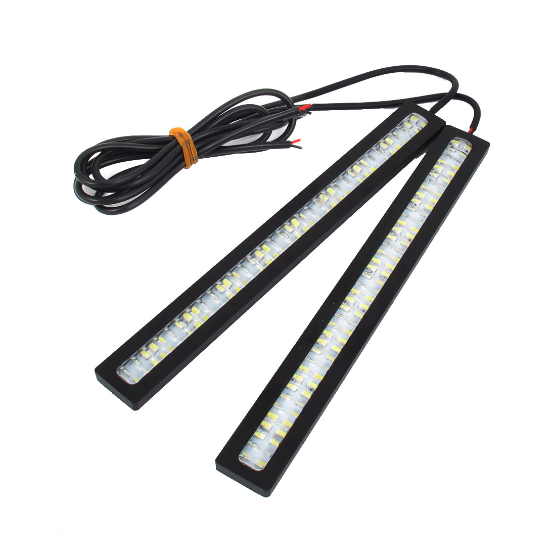 2 Pcs Car Auto 1206 SMD 84 White LED DRL Driving Daytime Running Light DC 12V