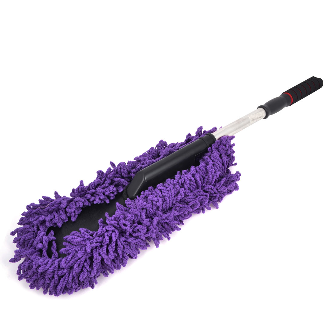 Vehicles Car Antislip Grip Soft Microfiber Dust Clean Brush Purple
