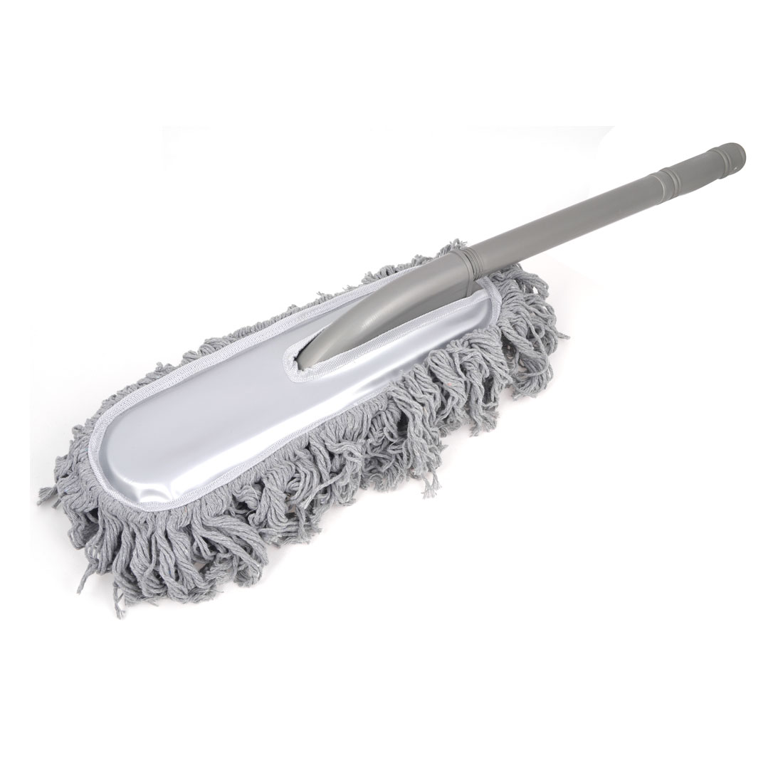 Gray Soft Microfiber Car Clean Brush Dust Cleaning Tool 65cm Long