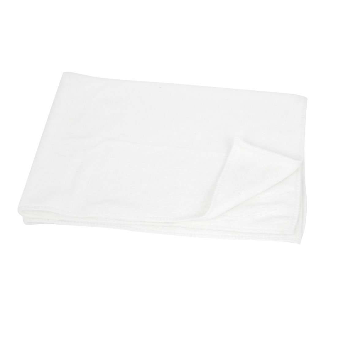 Auto Car White Cleaning Tool Window Glass Anti-fog Towel Cloth 40cm x 60cm
