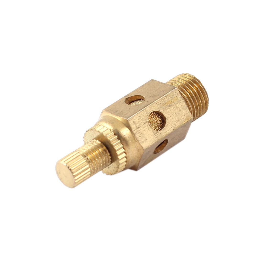 Air Pneumatic 9.5mm Male Thread Reduce Noise Exhaust Silencer Muffler