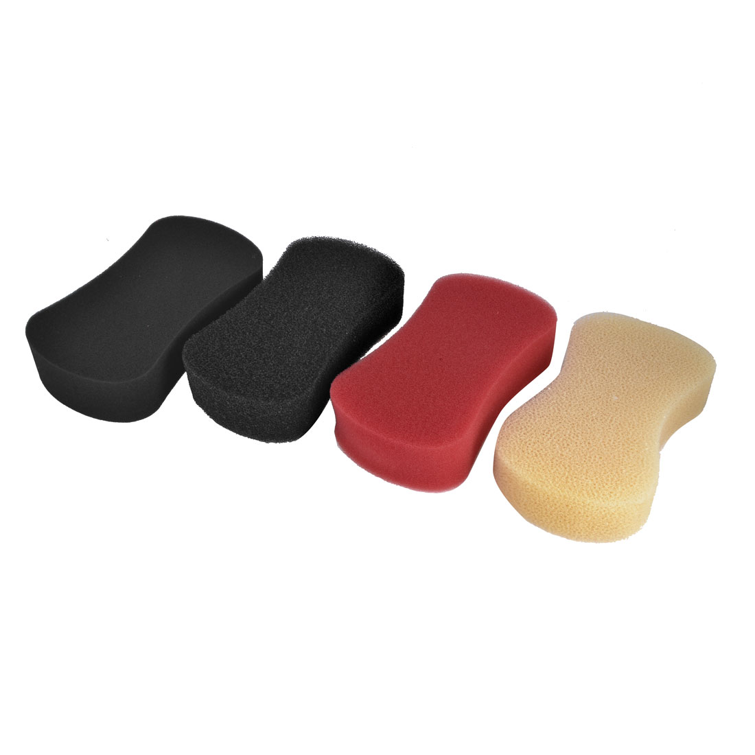 4 Pcs Car Colorful Soft Cleaning Washing Sponge Cleaner Pad 20 x 11.5 x 5cm