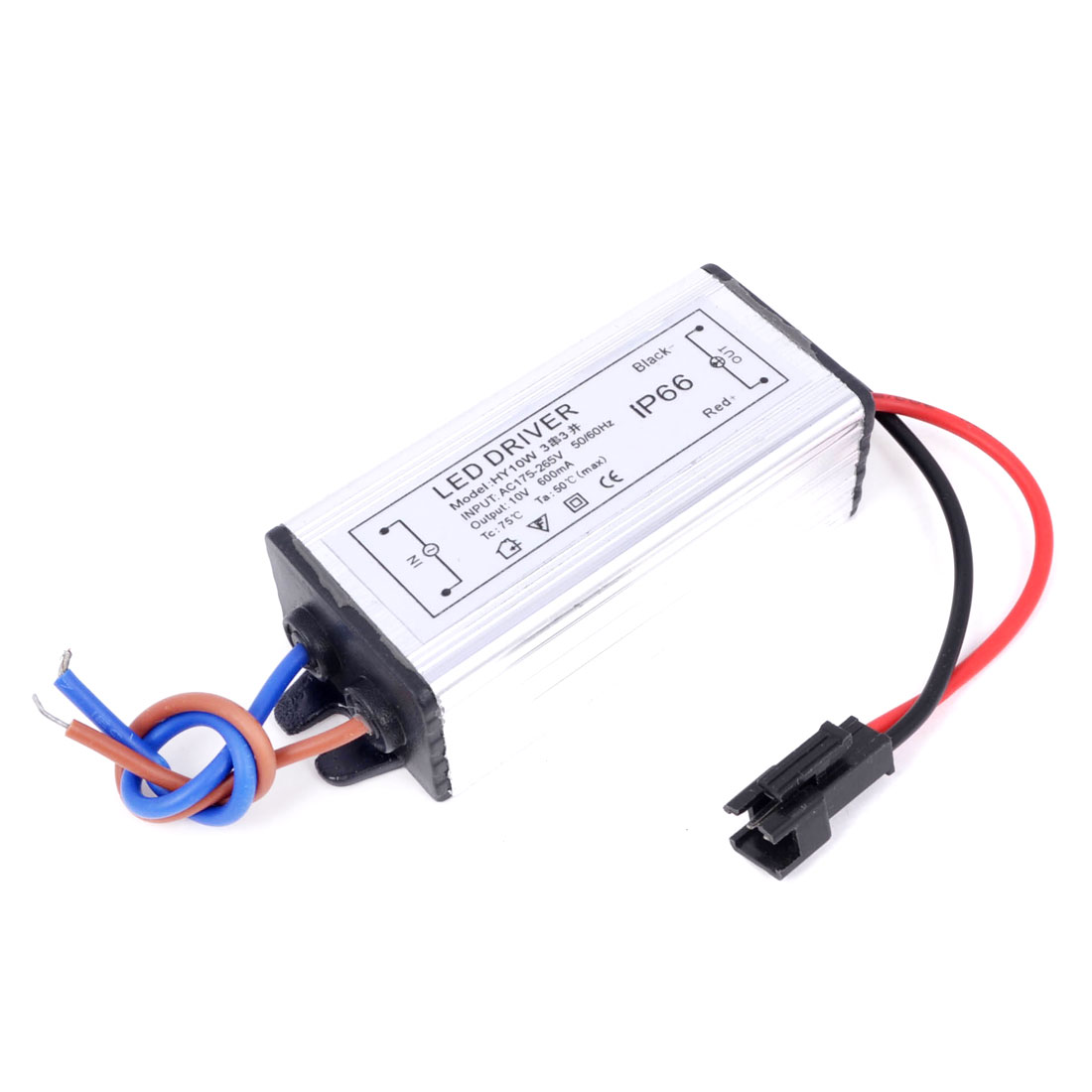 AC 175-265V DC 10V 600mA LED Strip Water Resistant Power Supply Driver