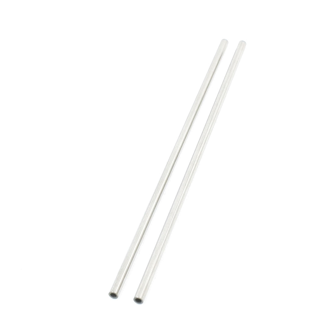 2pcs 3mm OD x 0.5mm Wall Stainless Steel Round Tubing Tube 130mm Long