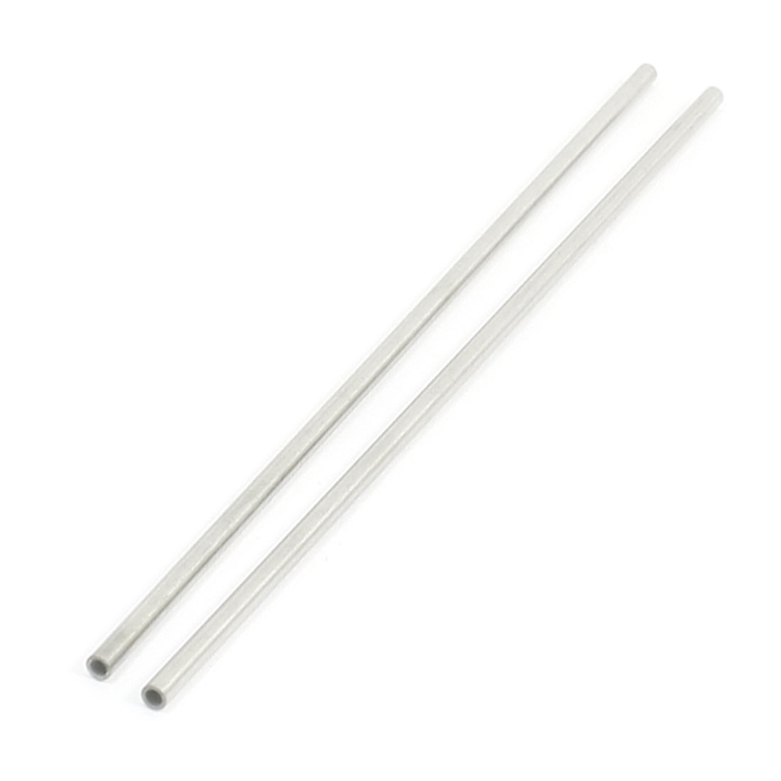 "2PCS 160mm Long 3mm Dia 0.02"" Wall Stainless Steel Welded Round Tubing"
