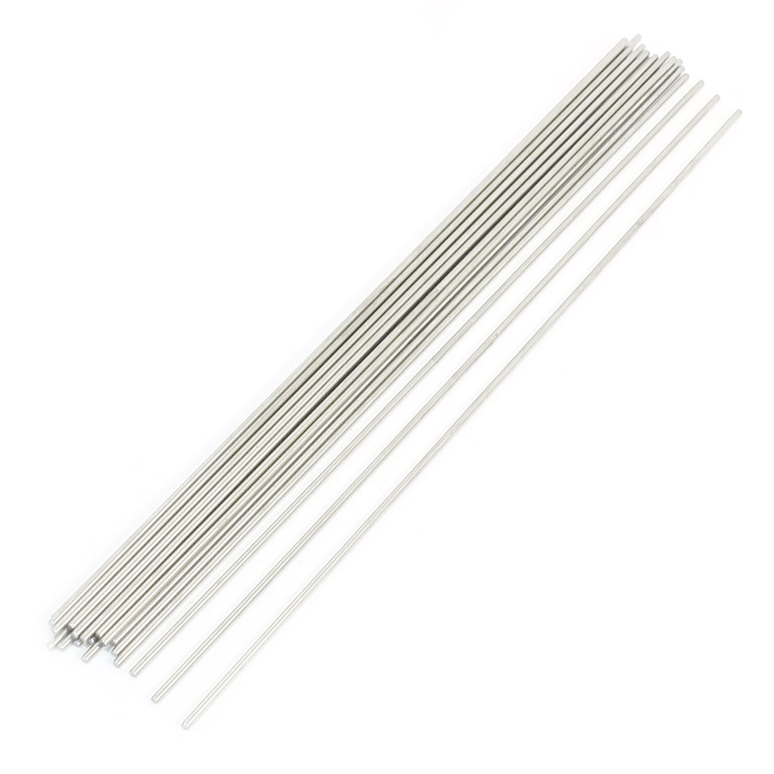 20Pcs RC Airplane Hardware Tool Stainless Steel Round Rod 250mm x 2mm