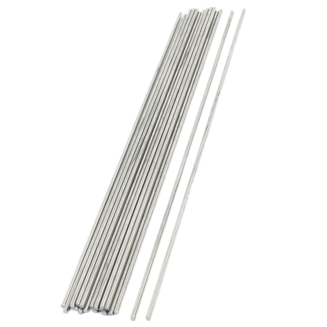 20PCS RC Aircraft Parts Stainless Steel Straight Bar Shaft 250mm x 2.5mm