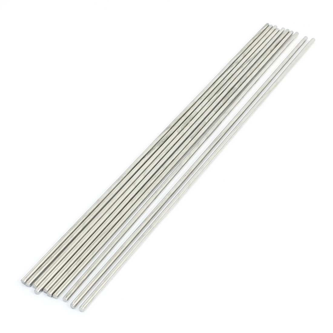 10PCS RC Smart Car Toy Part Stainless Steel Round Bar Shaft 250x 2.5mm