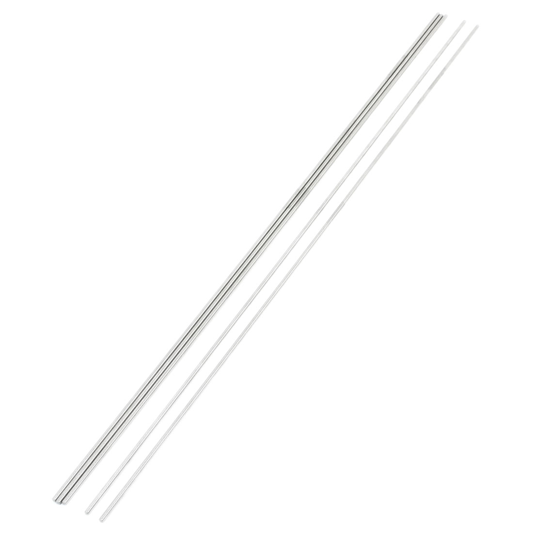 5 Pcs DIY RC Model Stainless Steel Circular Round Rod Bar 500mm x 3mm