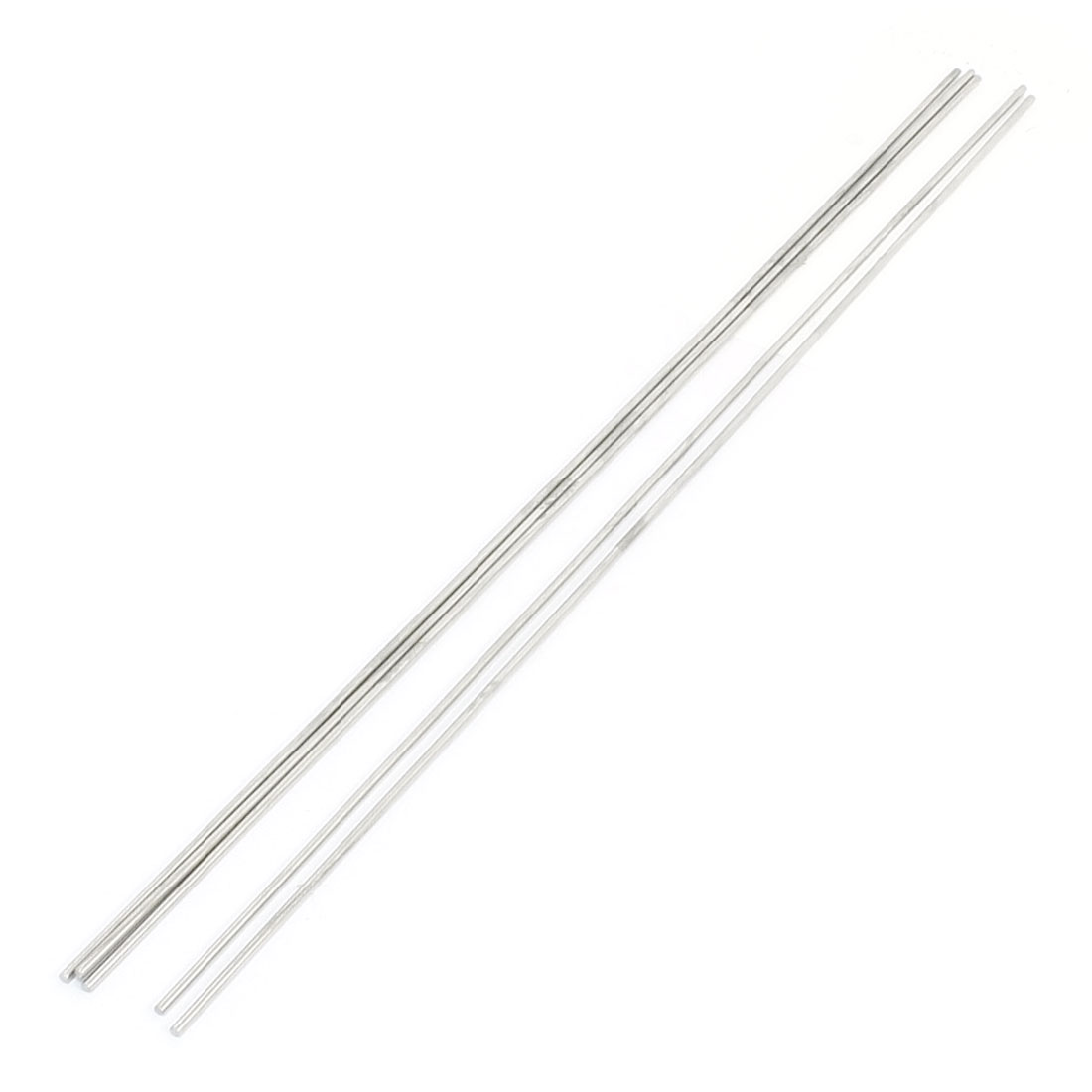 5Pcs RC Airplane Hardware Tool Stainless Steel Round Rod 400mm x 2.5mm