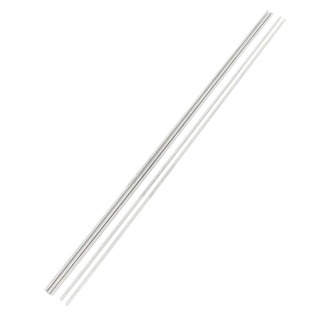 5pcs RC Aircraft Toys Replacement Stainless Steel Round Bar 300x2mm