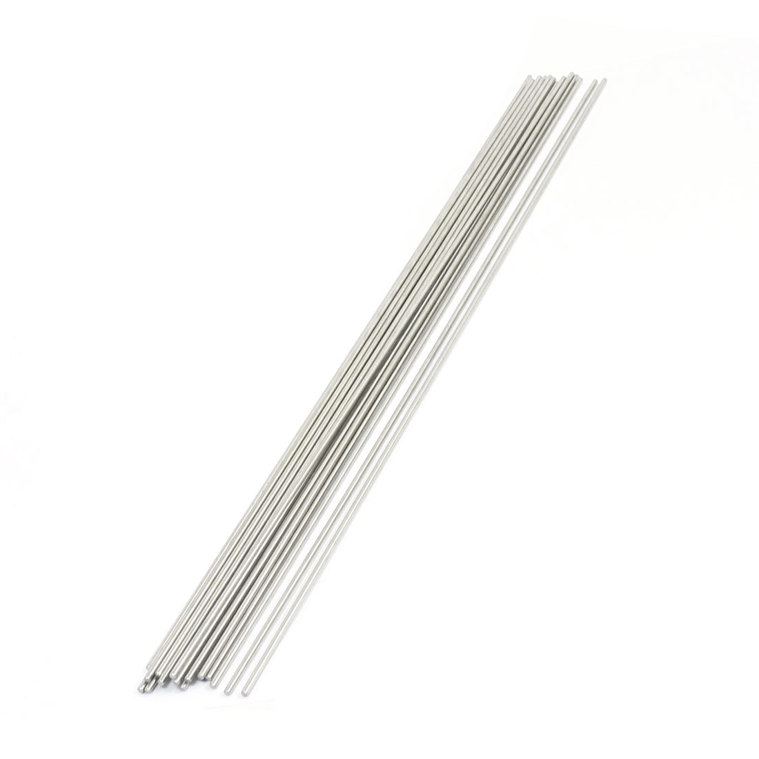 20PCS 300mm x 2mm Stainless Steel Round Rod Axle Bars for RC Toys