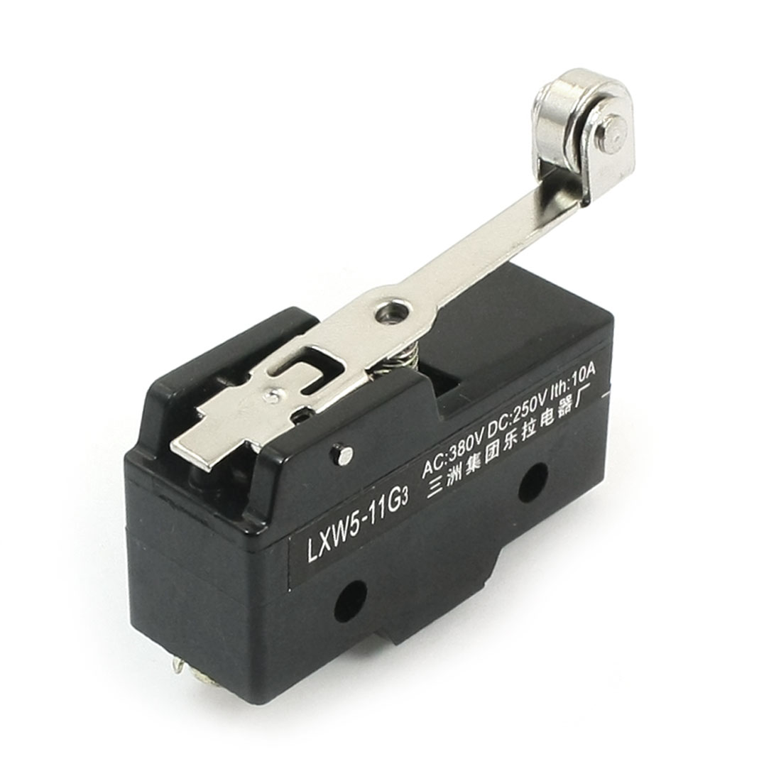 LXW5-11G3 SPDT 1NO 1NC 3 Screw Terminals Momentary Automatic Reset Long Hinge Roller Lever Limit Micro Switch