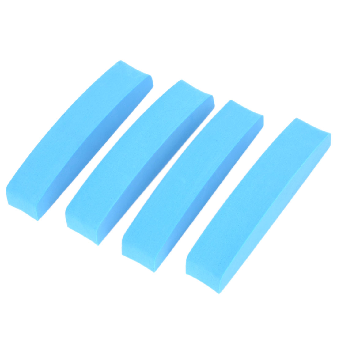 4 Pcs Blue Foam Vehicle Truck Side Door Edge Protector Trim Guard Sticker