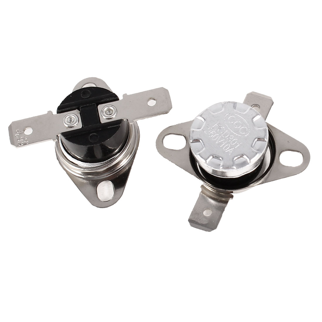 2 Pcs NC Normal Close Thermostat Temperature Controlled Switch KSD301 55C AC 250V/10A