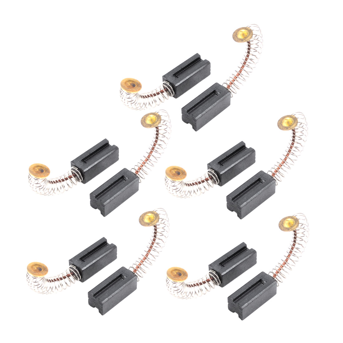 10 Pcs Electric Drill Motor Carbon Brushes 14 x 6 x 6mm