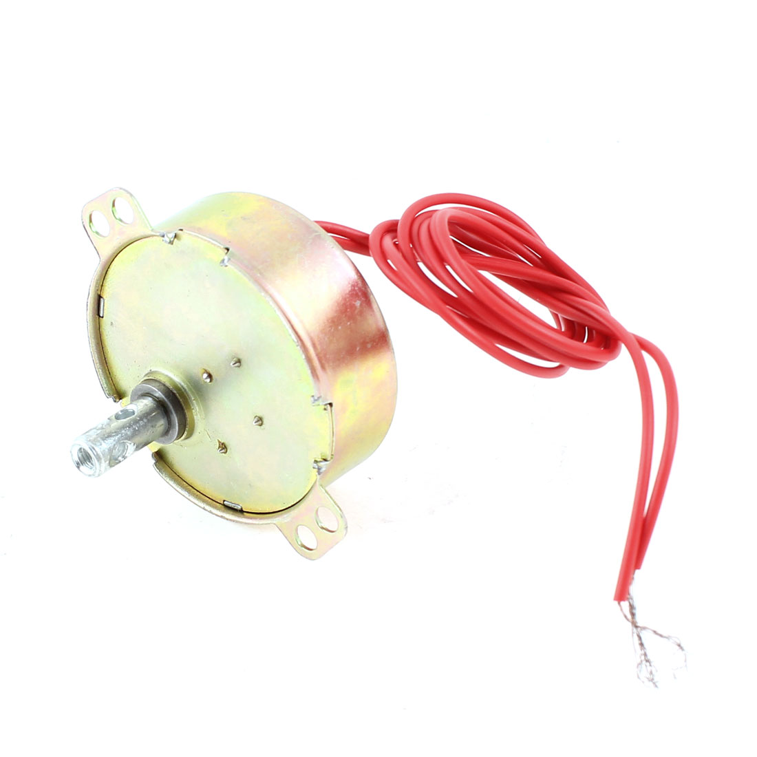 AC220V 50/60Hz 4W Wired Microwave Oven Synchronous Motor Brass Tone