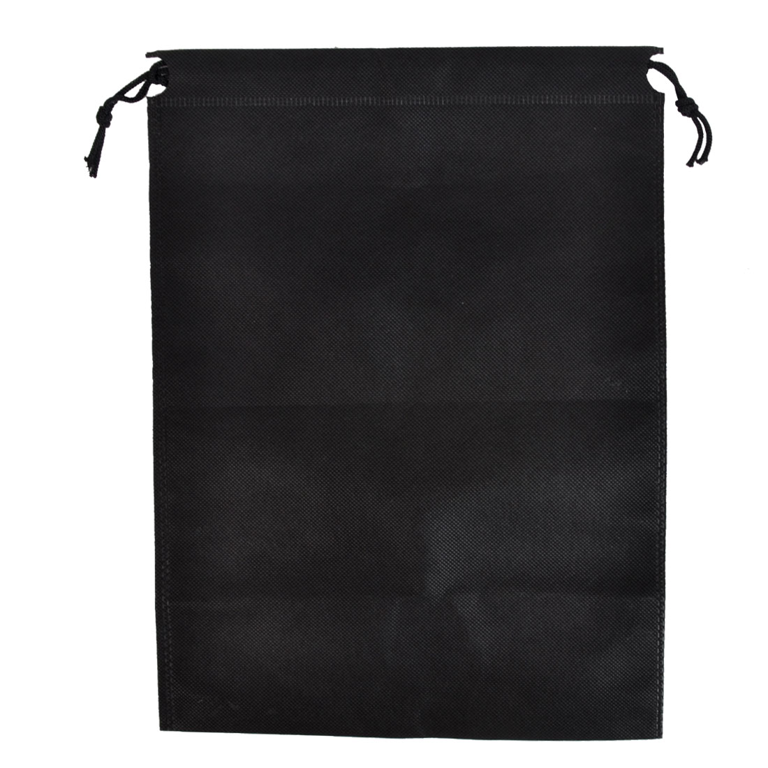 Clothes Dust Cover Storage Travel Drawstring Bags 34 x 25cm Black