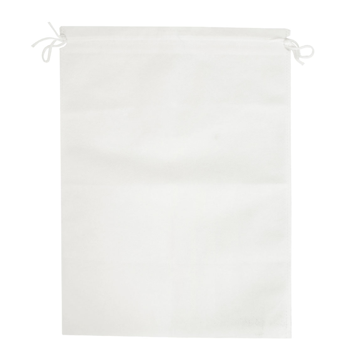 "Household Clothing Dust Cover Storage Drawstring Bags White 20""x 16"""