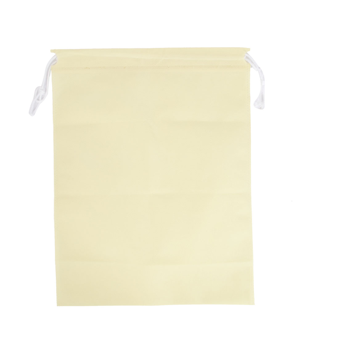 Traveling Garment Clothing Cover Storage Drawstring Bags Beige