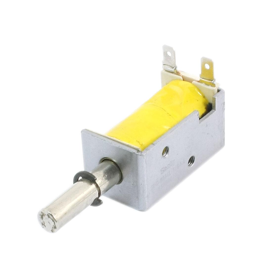 12V 5mm 1000g Pull Type Open Frame Linear Solenoid Electromagnet