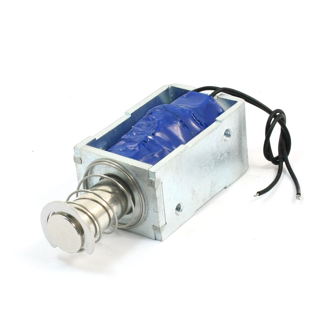 DC60V 10mm 3kg Actuator Pull Type Linear Motion Solenoid Electromagnet