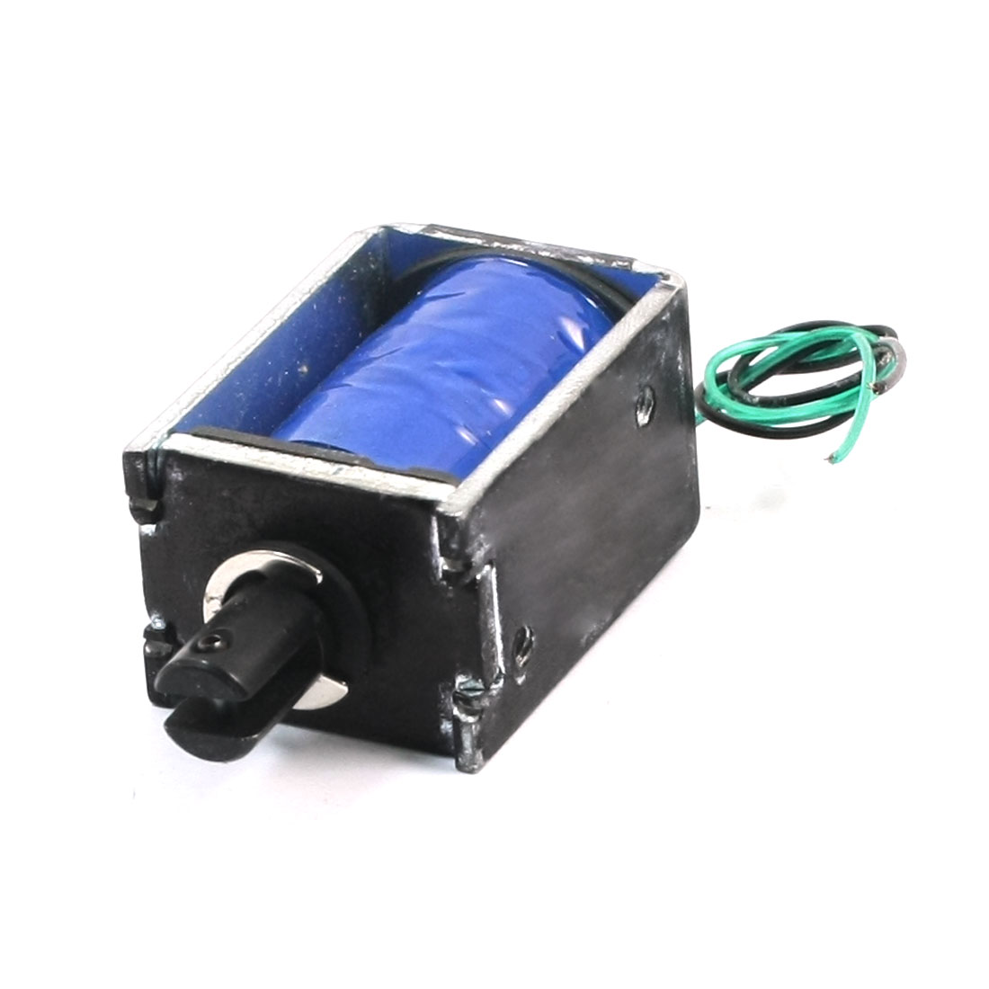 12V 500g/5mm 50% Electrified Rate Push Linear Motion Solenoid Electromagnet