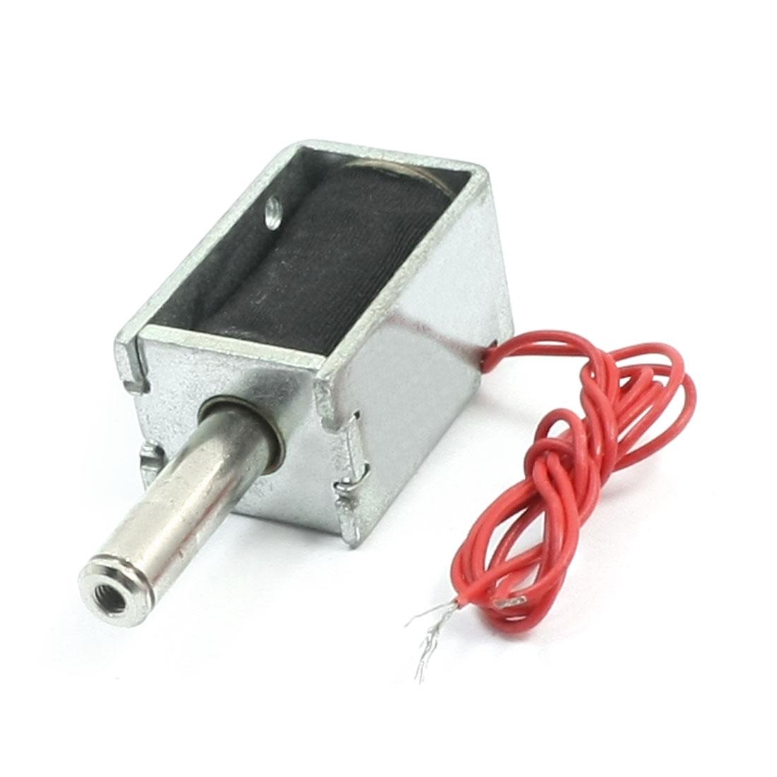 DC48V 0.25A 12W 80g/5mm Pull Type Open Frame Solenoid Electromagnet