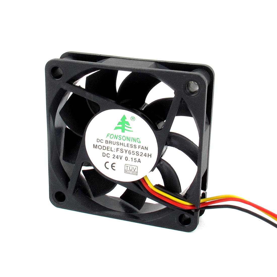 DC 24V 0.15A 3 Pin Connector PC Computer Case Cooling Fan 60mm x 60mm