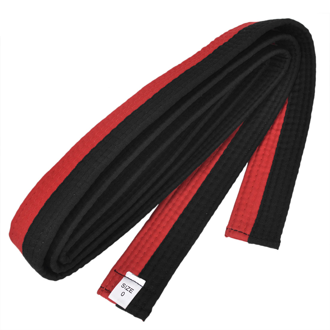Red Black Level 1 Martial Arts Karate Tae Kwon Do Judo Belts 4cm Width