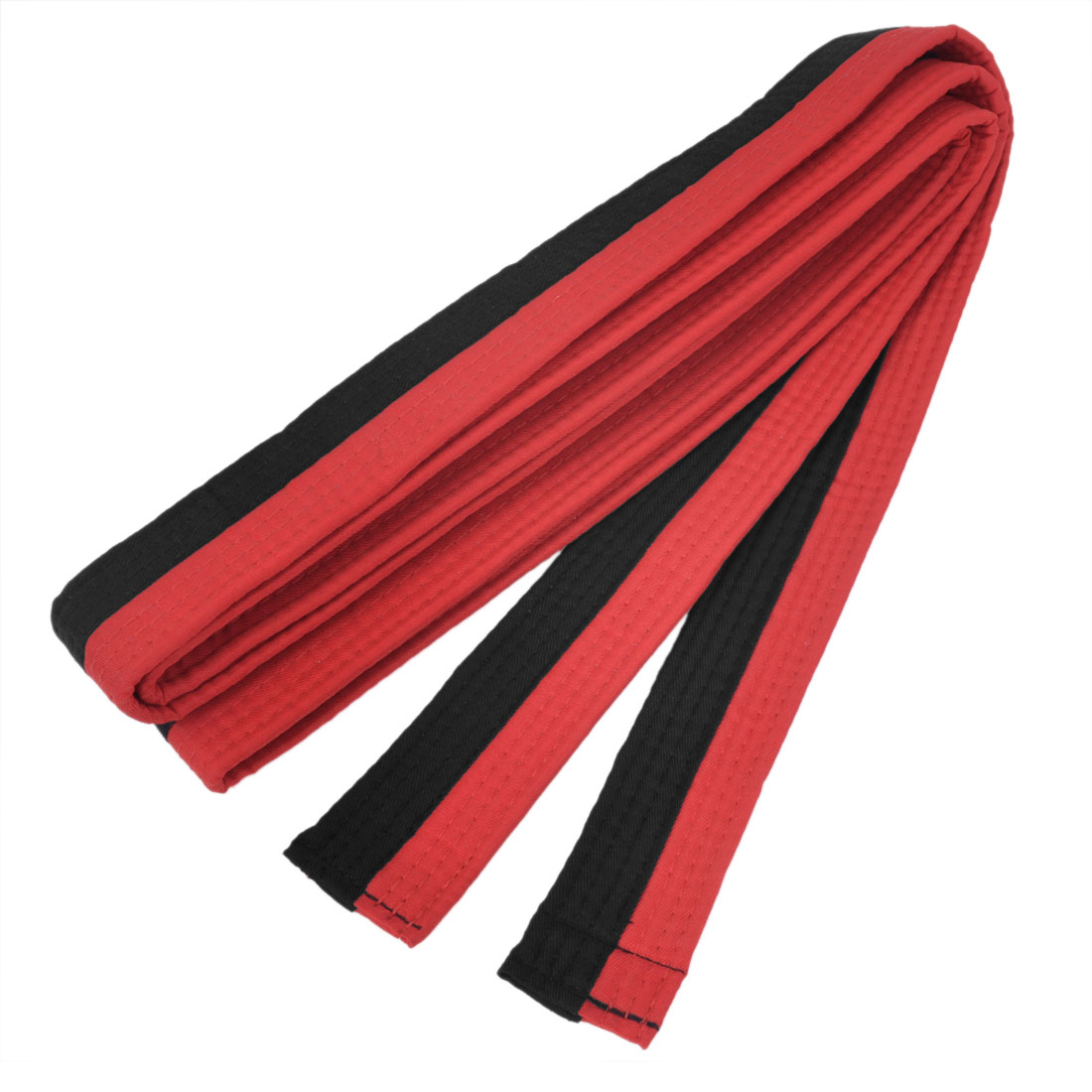 Red Black Level 1 Martial Arts Karate Tae Kwon Do Judo Belts 260cm Long