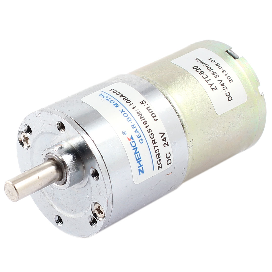 DC 24V 5 RPM Metal Permanent Speed Reducing Geared Box Motor