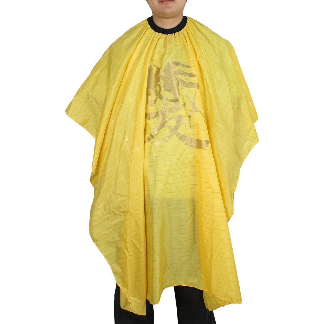 Hair Salon Barber Shop Shampoo Hairstyle Haircut Cape Apron Yellow