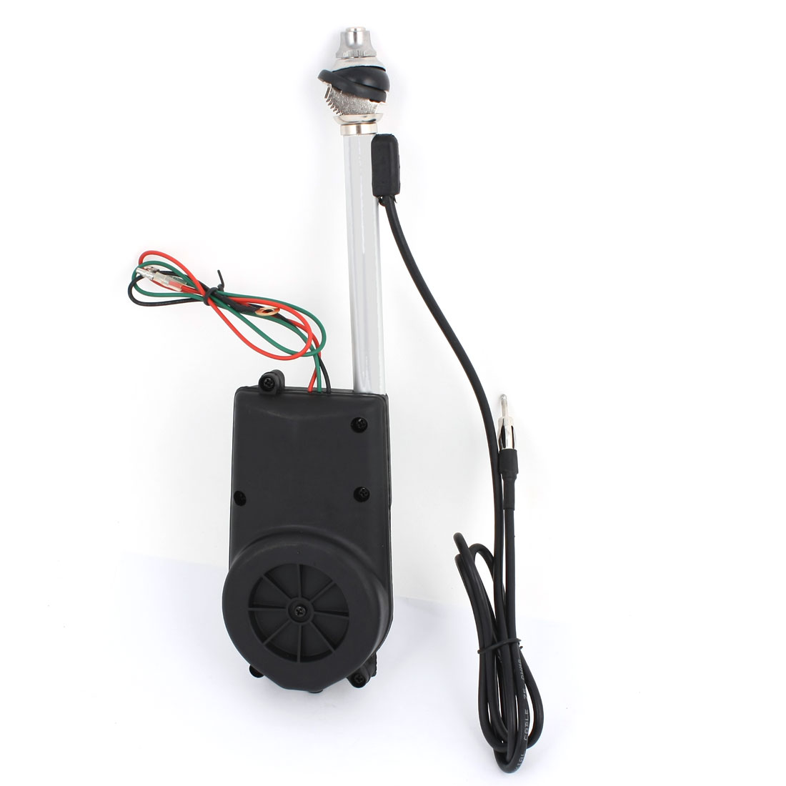 DC 12V Universal AM FM Radio Electric Automatic Antenna Black BF-686
