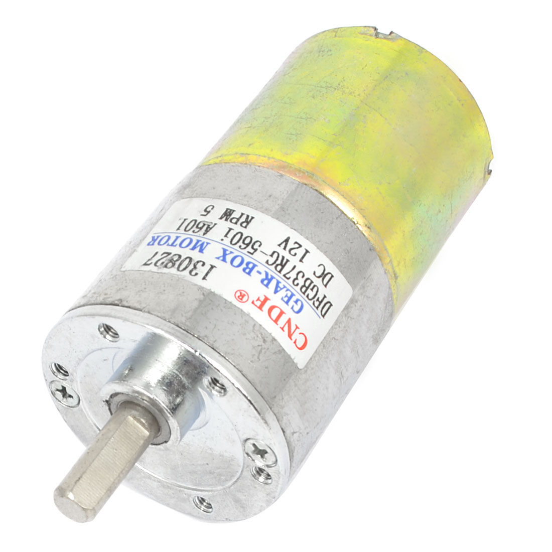 Electric Replacement DC 12V 5RPM Rotation Output Speed Generator Motor