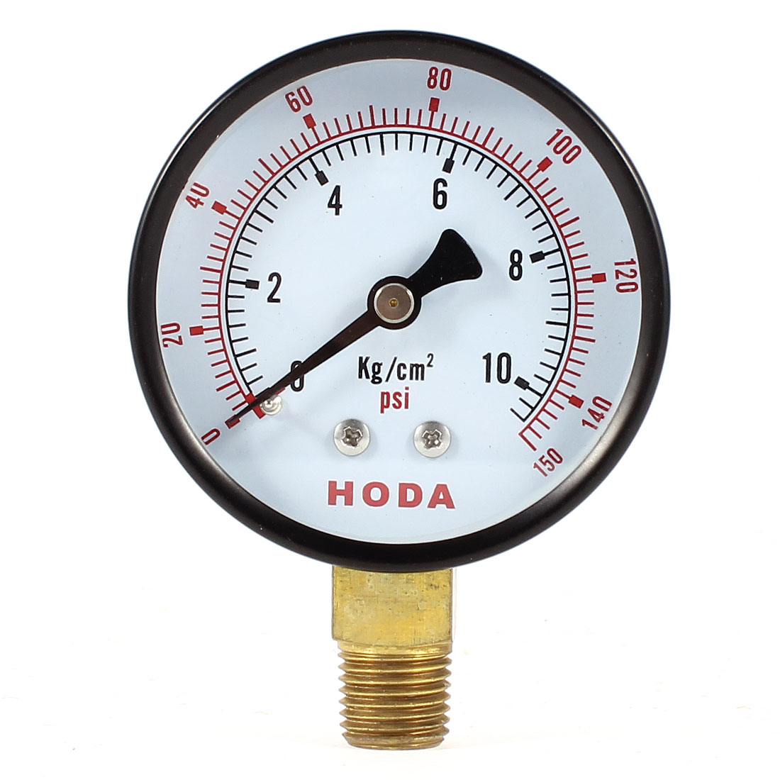 Replacing Round Shaped Dial 0-150 psi Pneumatic Compressed Air Pressure Gauge