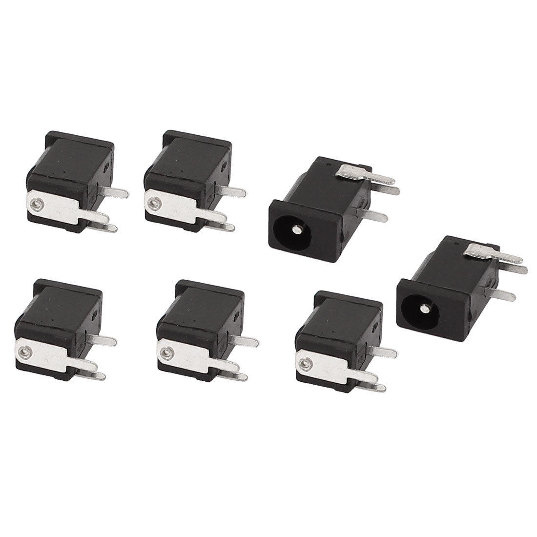 7 Pieces DC 3.5mmx1.1mm Power Jack Socket Female Panel Mount Connector Adapter