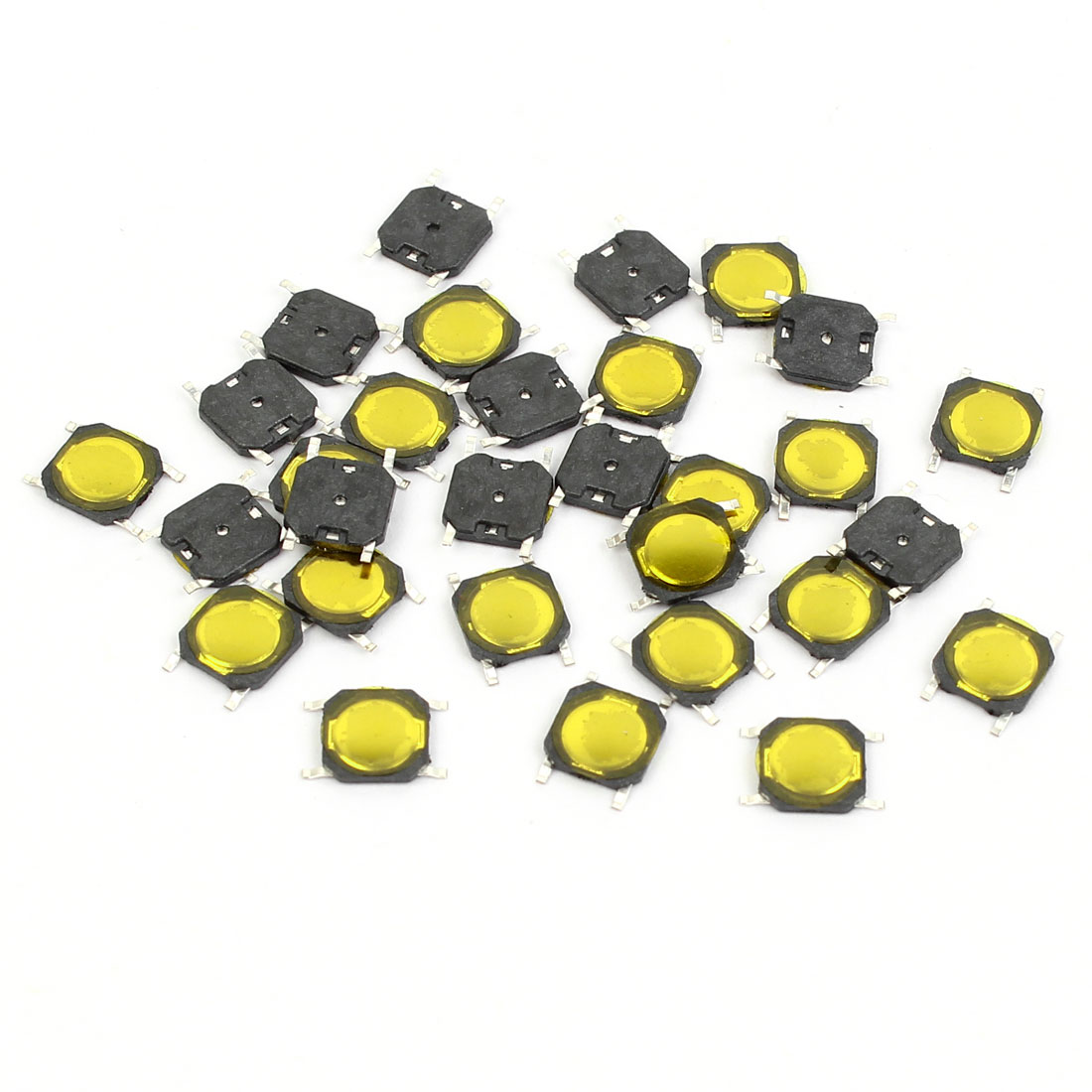 30 Pcs 5mmx5mmx0.8mm 4Pins SMD Momentary Push Button Tact Tactile Micro Switches