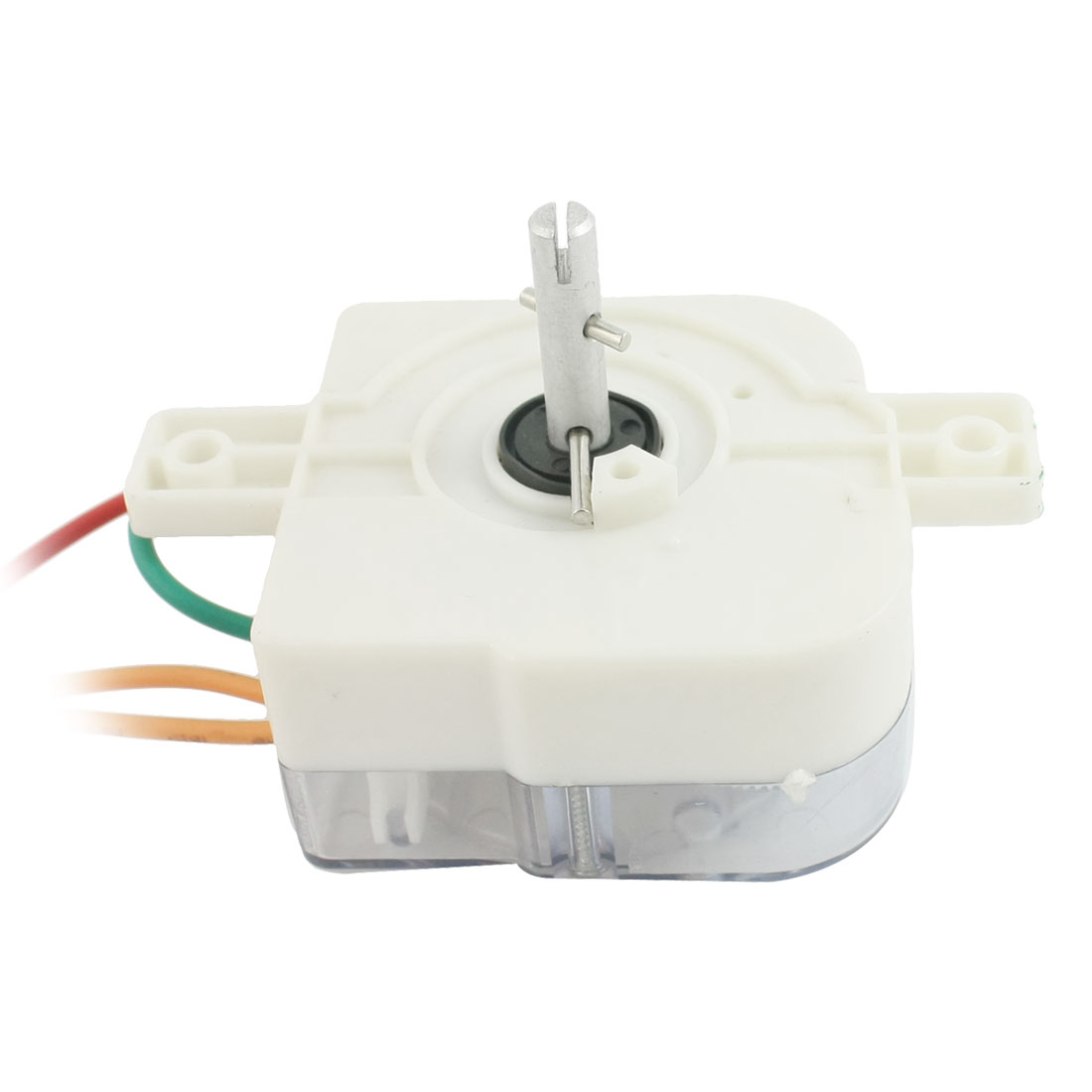 AC220V 3A 3 Wires 45 Degree Rotary Shaft Washing Machine Washer Timer White