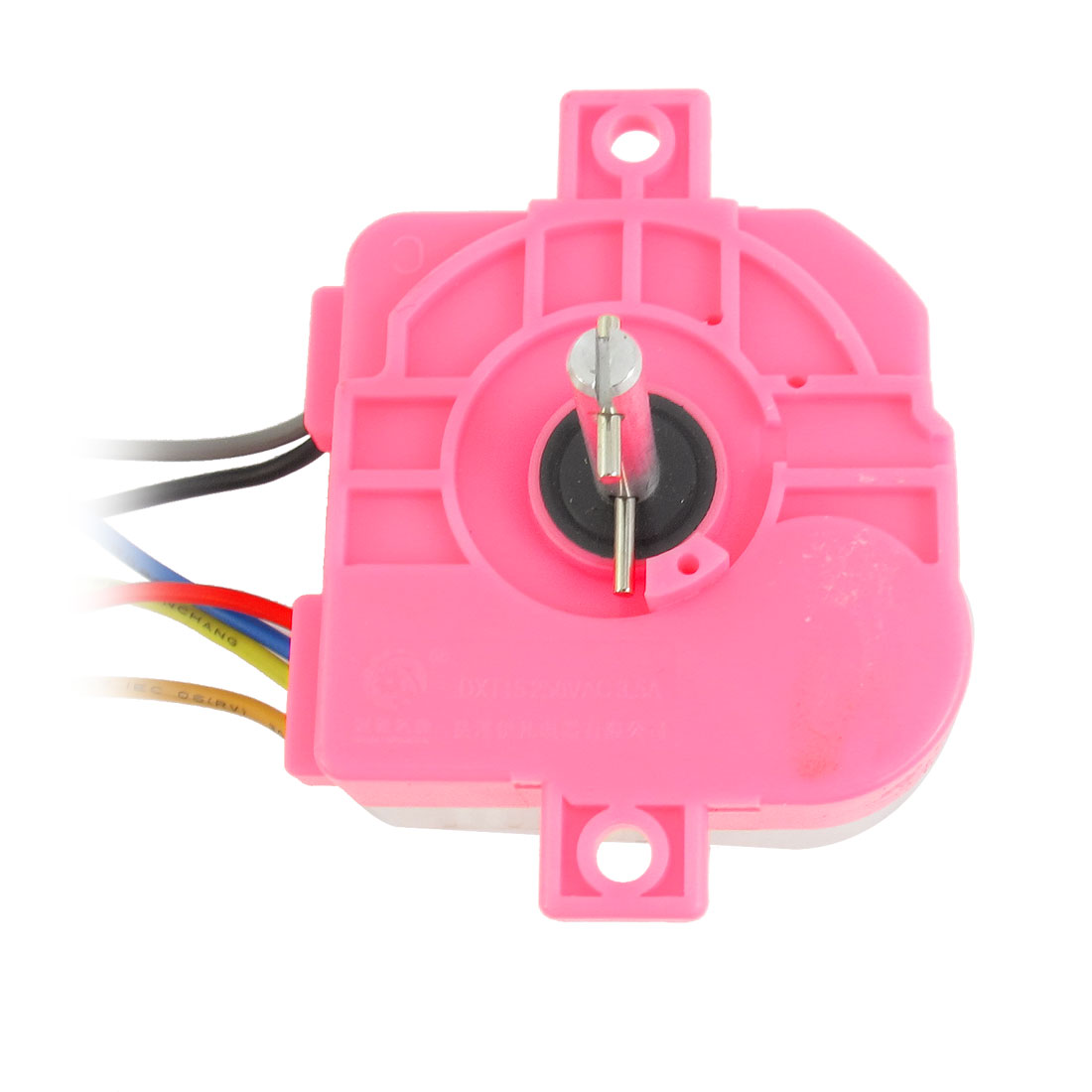 AC 250V 3.5A 6 Wires 180 Degree Rotary Shaft Washing Machine Washer Timer Fuchsia