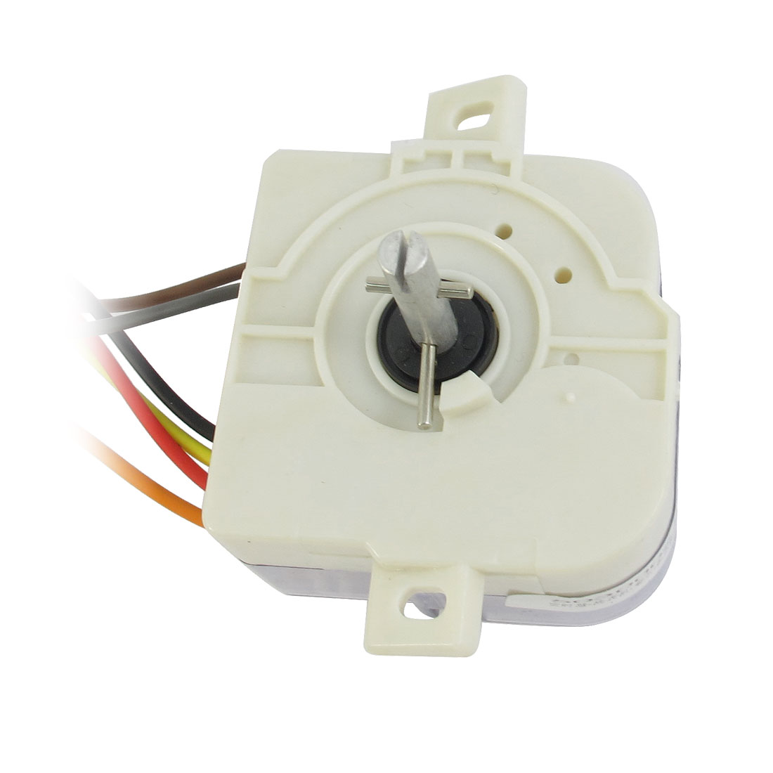 AC220V 3A 6 Wires Connector Washing Machine Washer Timer White Clear