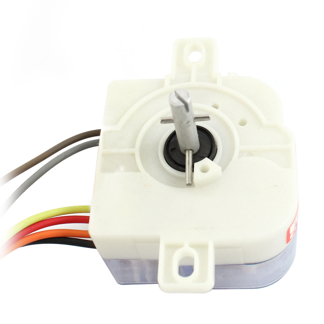 AC220V 3A 6 Wires 90 Degree Rotary Shaft Washing Machine Washer Timer White